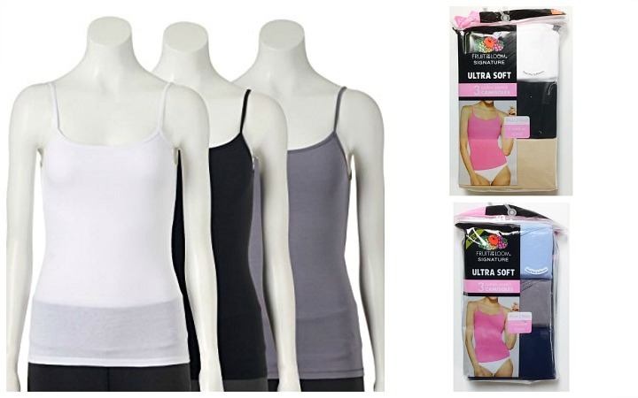 #031 Fruit of the Loom Ultra Soft Camisoles - $4.50 per pack(24 packs)