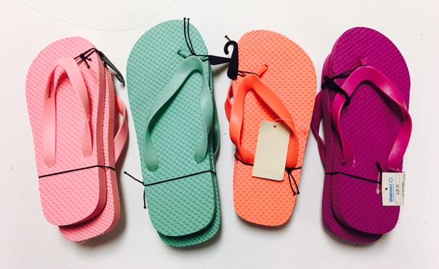 #10-PRG Girl's Promo FLIP FLOPS - $.45 each(72 pairs)