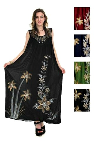 #575-1034 NEW! Rayon Plus Size Dress - $7.00 each(12 pieces)