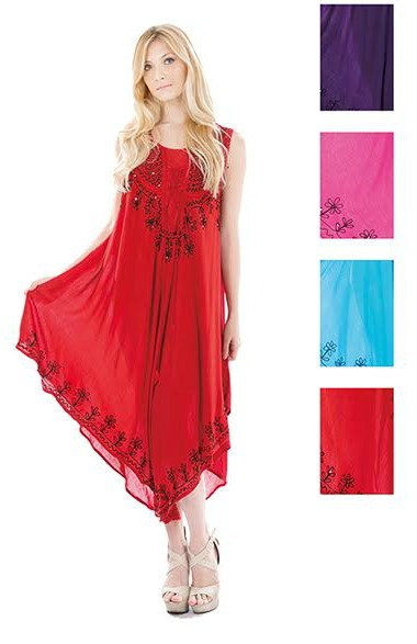 #575-1127 NEW! Rayon Sundress - $6.50 each (12 pieces)