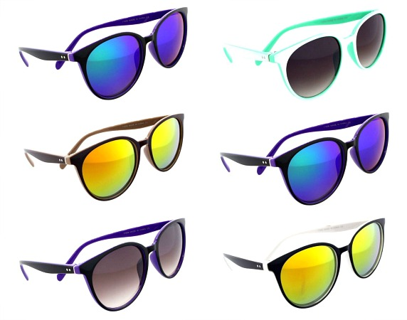 #3-11506 NEW! Fashion Traditional Sunglasses - $2.25 each(12 pieces)