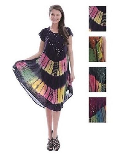 #575-1153XX NEW! Rayon Plus Size Dress - $7.50 each(12 pieces)