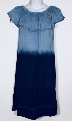#575-1491 NEW! Rayon Off the Shoulder Sundress - $7.00 each (12 pieces)