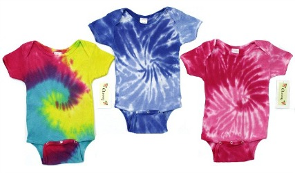 Tie Dye Baby Infant Cruiser Onesie #150