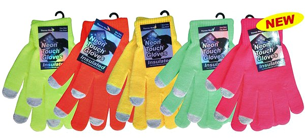 Neon Touch Gloves #807