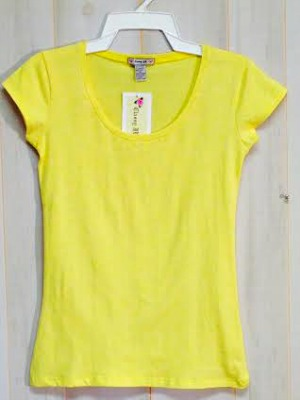 #269 Closeout! Baby DOLL Scoop Neck Tee - $1.50 each(12 pieces)