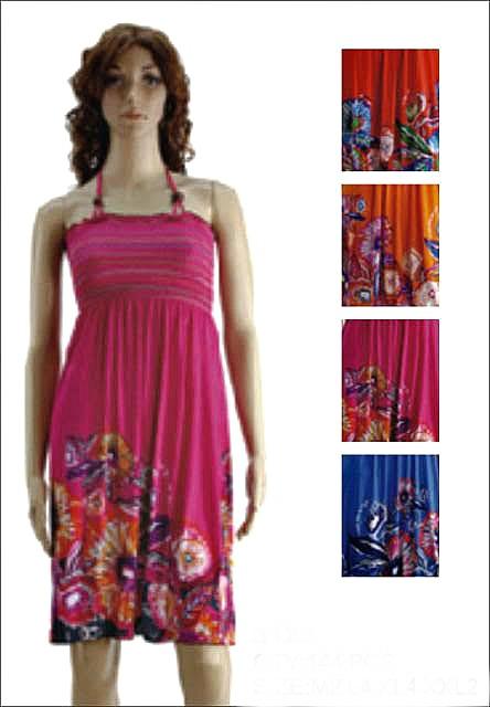 #575-3122 NEW! Sundress - Sizes M-L-XL-2X - $3.00 each(12 pieces)