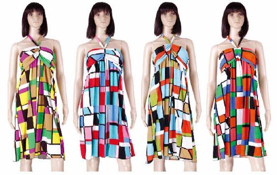 #575-3182 NEW! Sundress - Sizes M-L-XL-2X - $3.90 each(12 pieces)