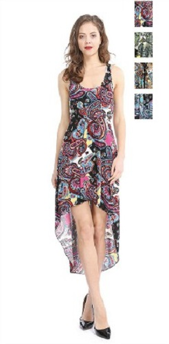 #575-3268 NEW! Hi/Low Sundress - Sizes SM to XL - $5.75 each (12 pieces)
