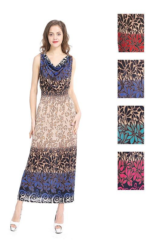 #575-3352XX NEW! Plus Size Sundress - Sizes 1X-2X-3X - $6.50 each (12 pieces)
