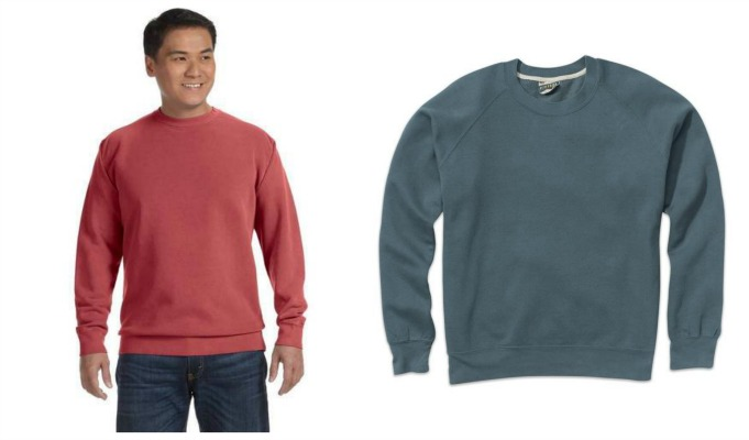 #380-D NEW! Crewneck Sweatshirts(S to 3x) - $3.50 each (24 pieces)