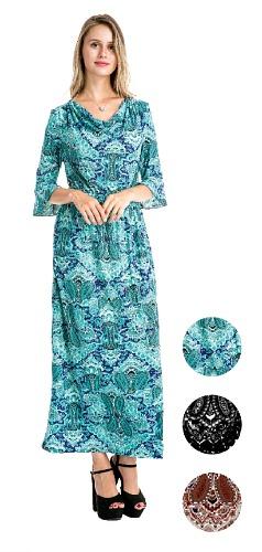 #575-3863 NEW! Long Dress/Long Sleeve - Sizes S-M-L-XL - $7.00 each (12 pieces)