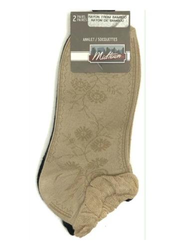#6-9196 Women's Anklet DRESS Socks - $1.00 per 2 pair (30 packs)