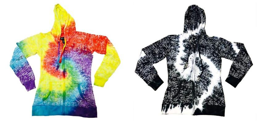 #709 NEW! 'Mari Clare' Burnout Zipper Hood - $9.00 each(12 pieces)