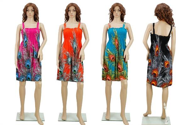 #575-801-05 NEW! Sundress - Sizes M-L-XL-2X - $2.50 each (12 pieces)