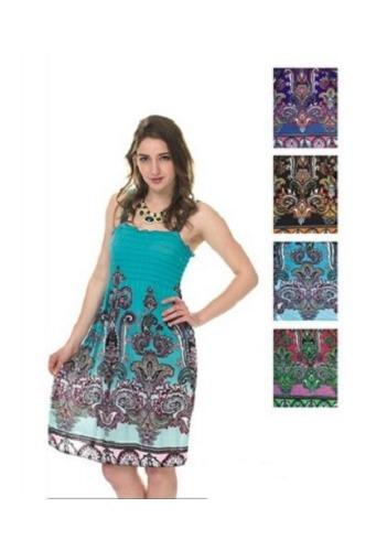 #575-801-42 NEW! Sundress - Sizes M-L-XL-2X - $2.50 each (12 pieces)