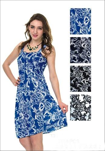 #575-801-45 NEW! Sundress - Sizes M-L-XL-2X - $2.50 each (12 pieces)