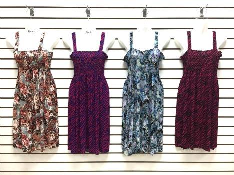 #575-801-66 NEW! Sundress - Sizes M-L-XL-2X - $2.50 each (12 pieces)