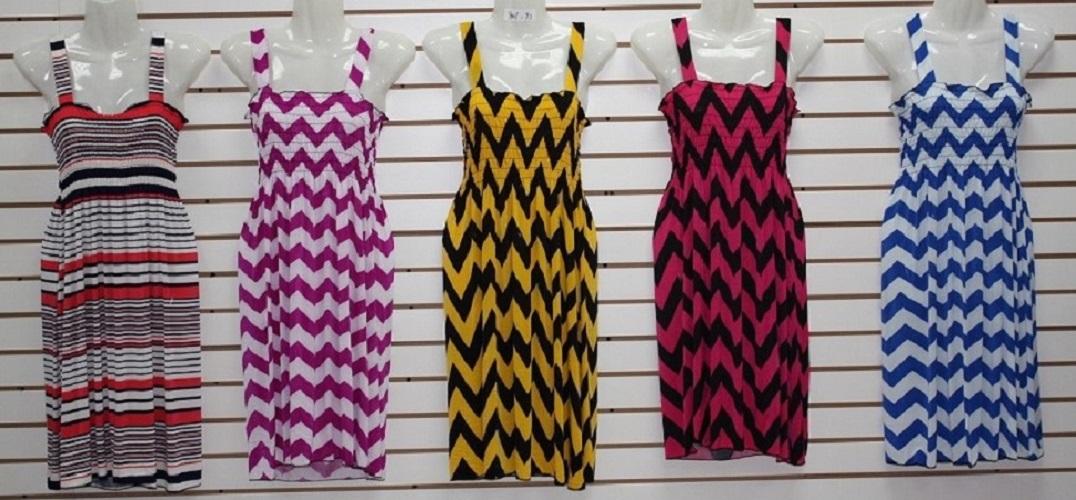 #575-801-72 NEW! Sundress - Sizes M-L-XL-2X - $2.50 each (12 pieces)