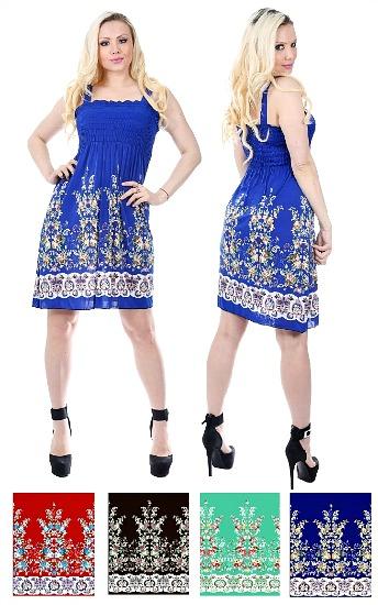#575-801-78 NEW! Sundress - Sizes S-M-L-XL - $2.50 each (12 pieces)