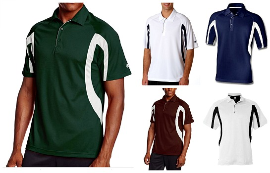 Champion Mens Double Dry Polo