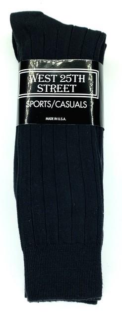 #9-927 Cotton DRESS/Casual Socks(Black) - $1.25 per pack of 3 (20 pks