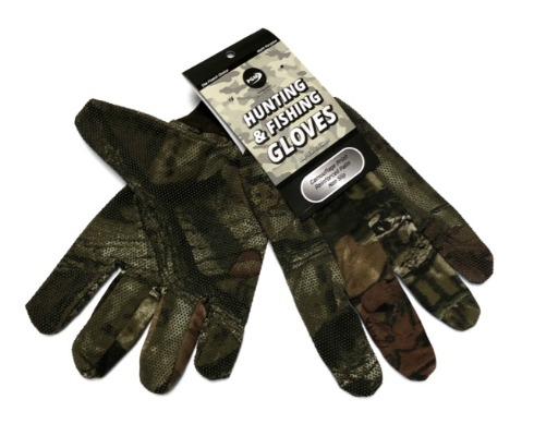 #9G-70054 Camo Hunting FISHING Gloves - $.99 per pair(24 pairs)