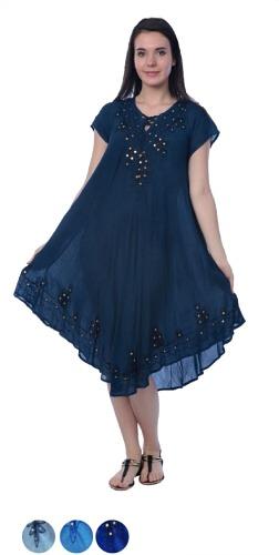#575-1285 NEW! Rayon Plus Size Dress - $7.00 each(12 pieces)