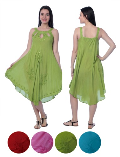 #575-1317 New! Rayon DRESS - $6.50 each(12 pieces)