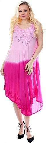 #575-1431 NEW! Rayon Dip Dye Sundress Sizes: S-XL - $6.50 each (12 pieces)