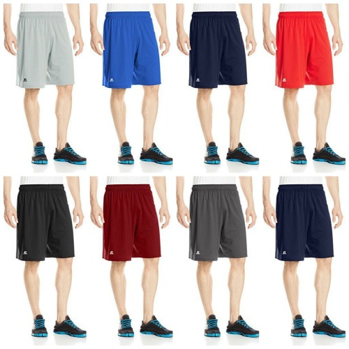 #621-N Russell Athletic Men's Performance SHORTS - $3.50 each (36 pieces)